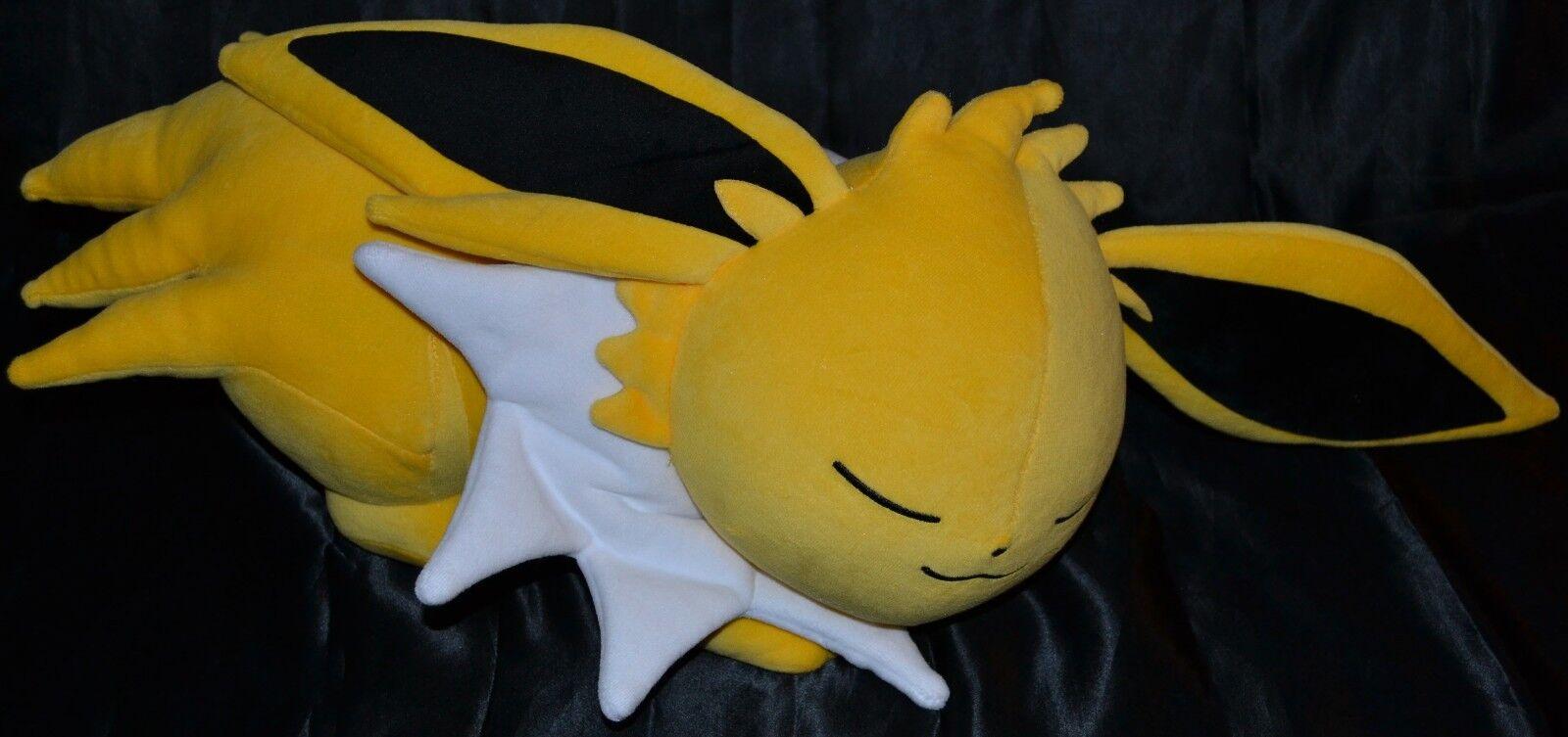 40.6cm Riposo Jolteon Poké Peluche (Taglia Grande) Ufficiale Pokemon Center Poke