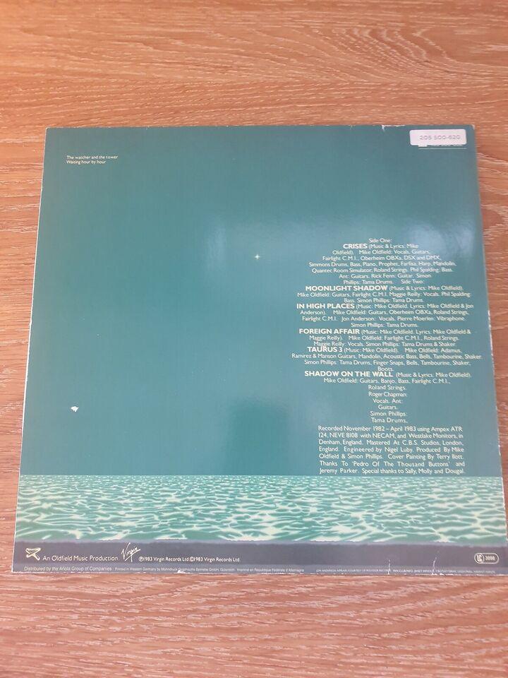 LP, Mike Oldfield, Crised