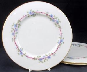 Lenox-China-BELVIDERE-3-Salad-Plates-S314-GREAT-VALUE