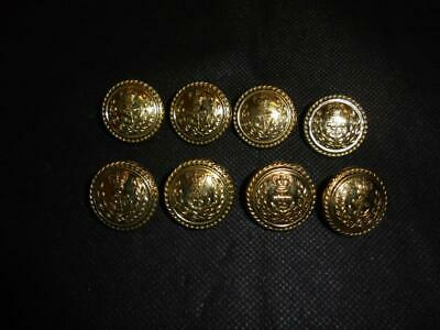 NEW British Royal Navy Naval Queen/'s Crown QC Large Buttons Quantity 12 or 20