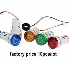 10pcs Digital Ammeter Monitor Current Amp Indicator Signal 0 100a Ampere Tester