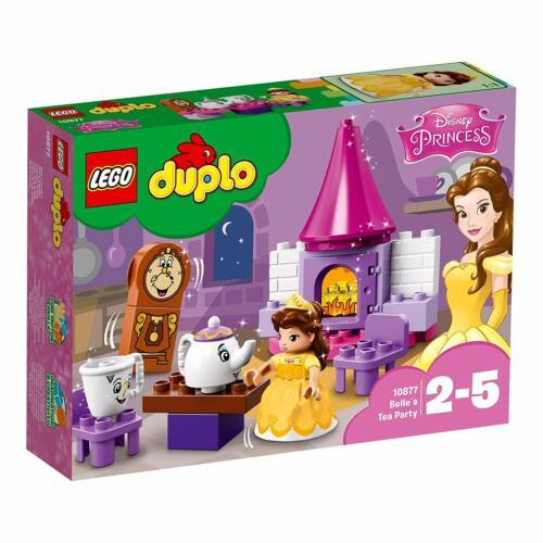 Lego 10877 Duplo Disney Princesa Belle/'s Tea Party Bella Y La Bestia Conjunto de Juguetes