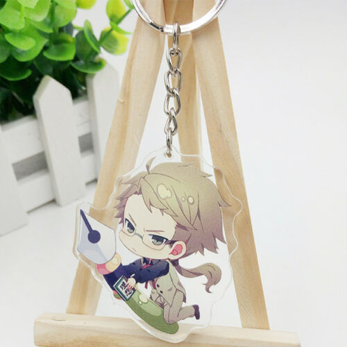 Bungo Stray Dogs Kunikida Doppo Key Chains Pendant Hang Key Buckle Key Rings