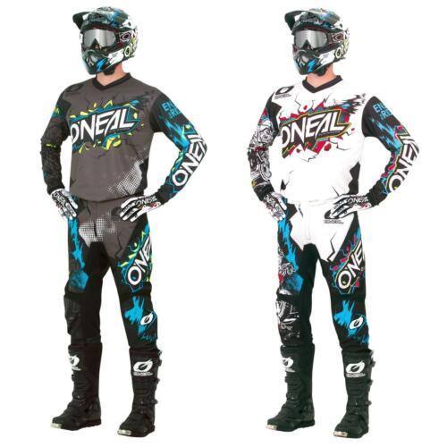 ONeal Element Villain Motocross Kinder Jersey MTB Mountain Bike Trikot Enduro