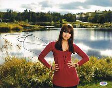 Demi Lovato Signed 11x14 Photo PSA/DNA COA Disney The X Factor Picture Autograph