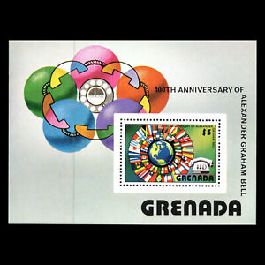 Grenada-1976-100th-Anniv-of-the-First-Telephone-Technology-Sc-787-MNH