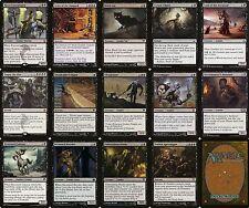 Zombie Apocalypse | MTG Magic The Gathering Modern Mono Black 60 Card Deck Lot