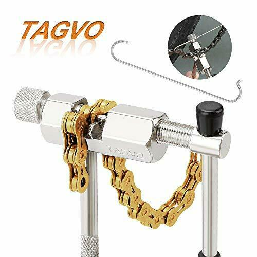 TAGVO Bike Chain Tool Bicycle Chain Breaker Spliter Link Remover Chain