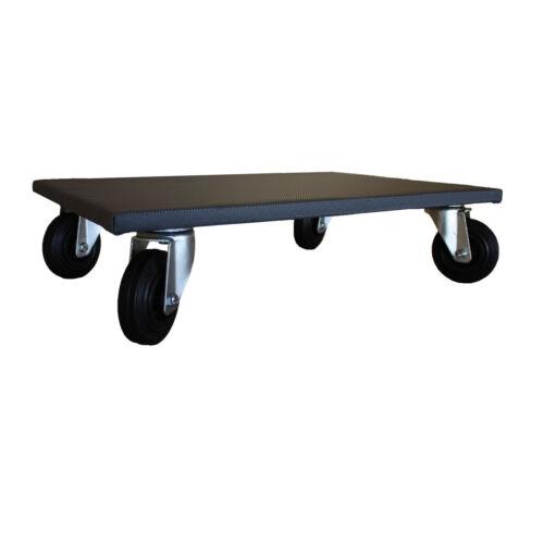 Arebos 2x de meubles Roller transport Roller Transporteur Möbelhund 200 kg