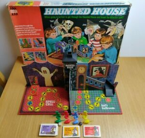 Vintage-Denys-Fisher-Haunted-House-Board-Game-1970s-For-2-4-Players