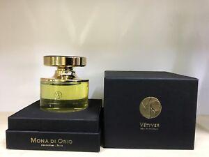 Detalles de MONA DI ORIO Vetyver Eau de Parfum 75ml 2.5 fl. OZ. hecho En Holanda Nuevo ver título original