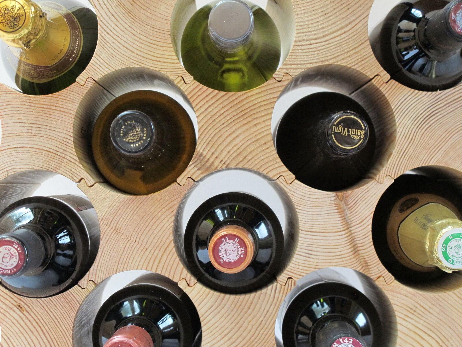 Cuisine Casier à vin -  Bouteille blocs's