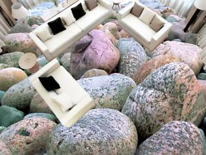3D Round Stones Beach 4 Floor WallPaper Murals Wall Print Decal AJ WALLPAPER