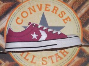 Buey Chucks Gr 5 36 Converse Neu 109314 Jugador Estrella Sangría Sfdptd