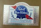 VINTAGE AMERICAN BEER LABEL - PABST BREWERY, BLUE RIBBON BEER 12 FL OZ