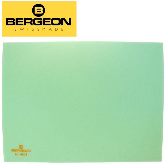 Bergeon 6808-V Watchmakers Green Plastic Bench Top Work Mat 6808-1 - Swiss Made