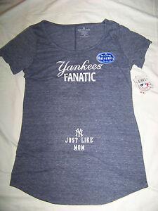 20570a18b87ee Soft As A Grape Women's Maternity New York Yankees Shirt NWT | eBay