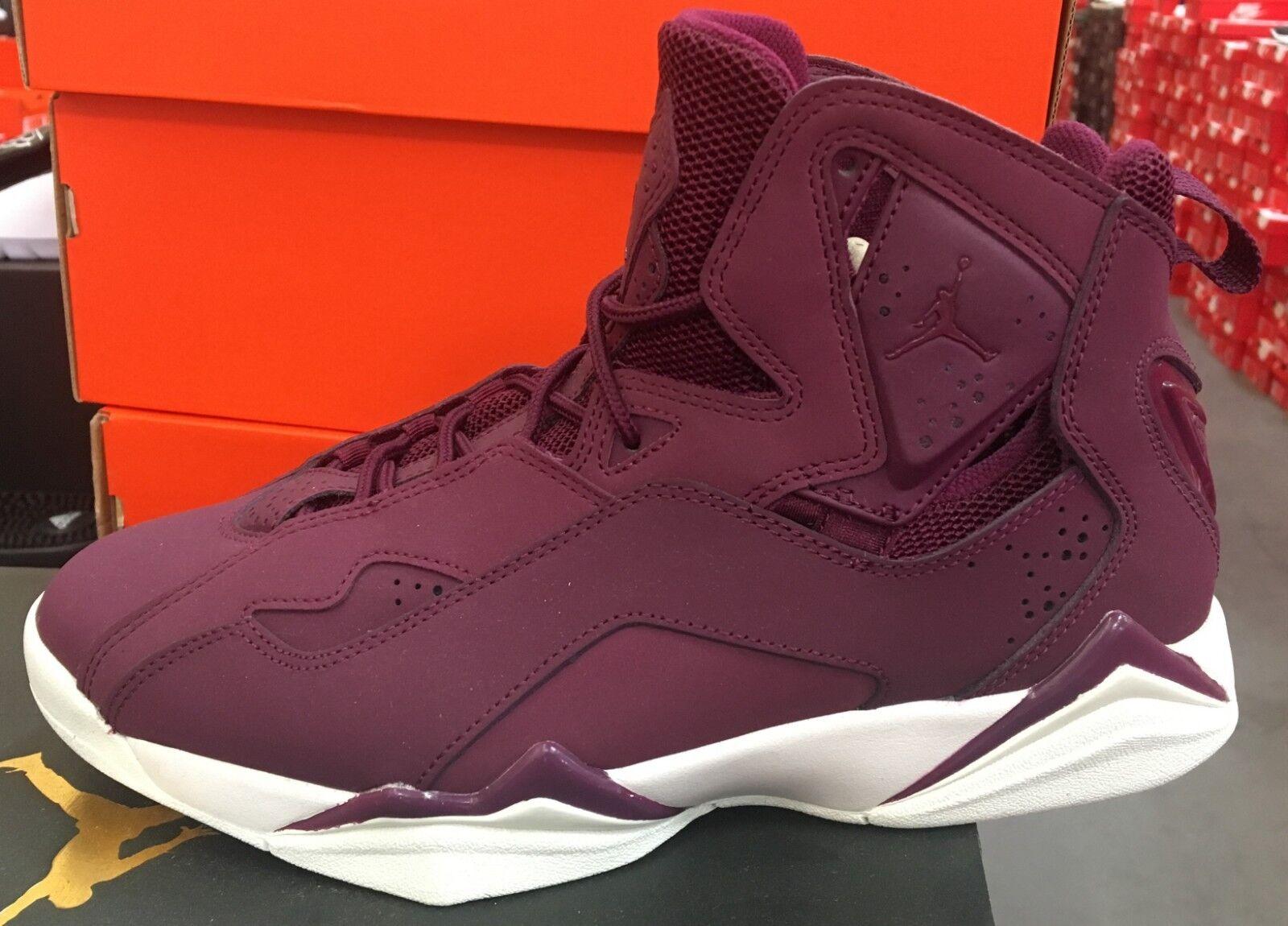 5d96cb368df Jordan True Flight Men s Basketball shoes Bordeaux Sail White 342964 625 K  Wine zdehnc8750-Athletic Shoes
