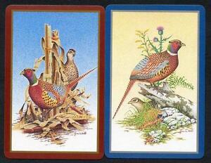 BEAUTIFUL-BIRD-PAIR-OF-SWAP-CARDS-NEW