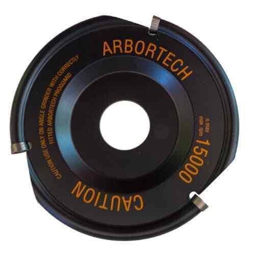 Industrial Woodcarver FG 100 Arbortech Hartmetall Frässcheibe für Winkelschle