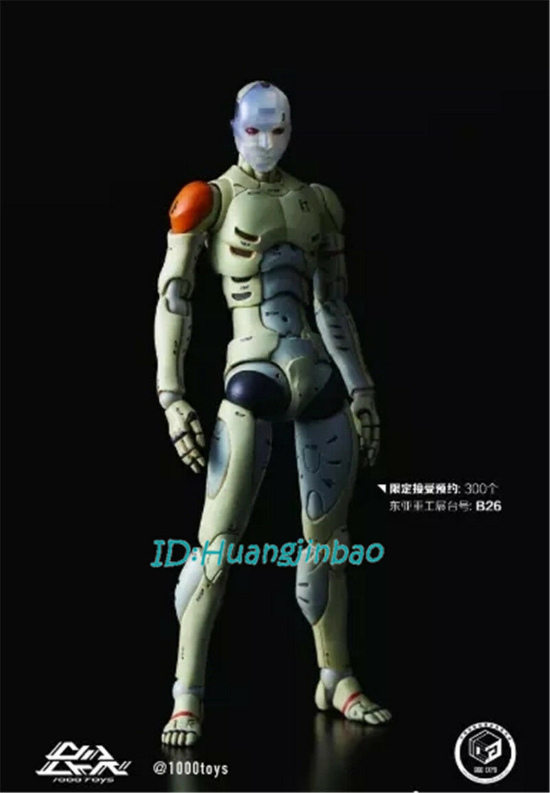 1000Toys 1/12 Synthetic Human Action Figure Body Battle Damaged Ver No Box Model
