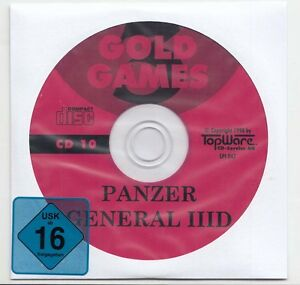 Panzer general 3d panzergeneral win 95 98 me xp vista for Generale il tuo carro armato