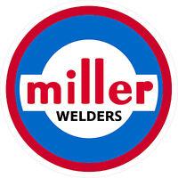 Miller Welder 1960 Decal Sticker - Set Of 2