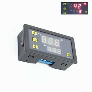 12V-Timing-Delay-Relay-Module-Cycle-Timer-Digital-LED-Dual-Display-0-999-hours-C