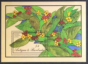 AT061-ANTIGUA-Flowers-034-Dozakie-034-S-S-Mint-NH
