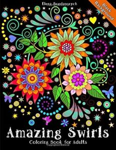Coloring-Book-for-Adults-Amazing-Swirls-Black-Background