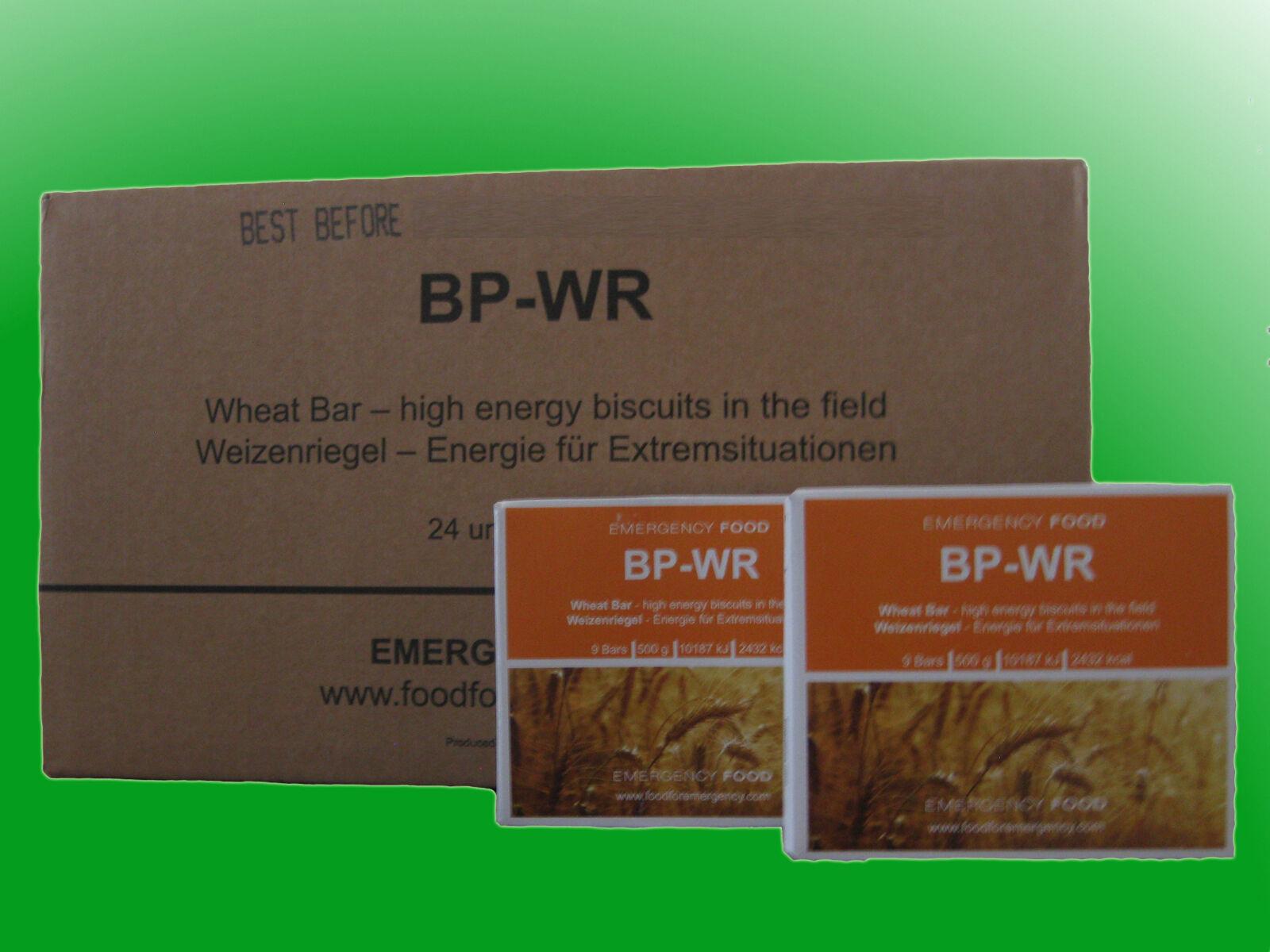 ( /kg) 1 Karton BP-WR Emergency Food, Notverpflegung, Langzeitnahrung