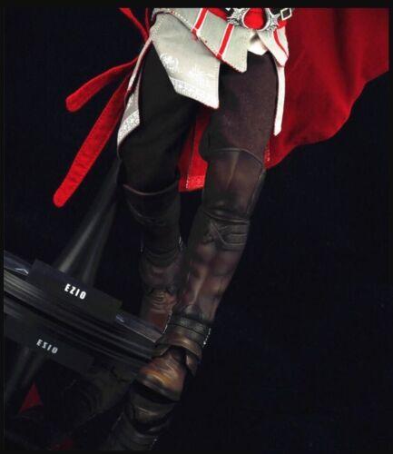 1//6 Assassin/'s Creed Bottes en cuir marron soldat romain Armor pour Hot Toys figure