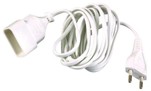 Prolongateur câble méplat Dhome Longueur 5 m H03 VV-H 2F 2 x 0,75 mm²