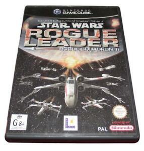 Star Wars Rogue Leader Rogue Squadron II Nintendo Gamecube PAL *Complete*