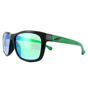 Image is loading Arnette-Sunglasses-4196-Slacker-22413R-Black-Green-Mirror efd3c09be4