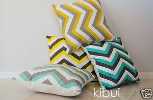 Chevron-Cushion-Pillow-Cover-High-Quality-100-Cotton-45x45cm-Kibui-188-SOLD