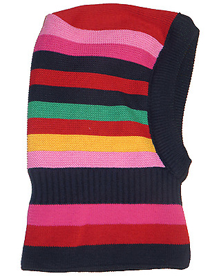 Maximo Childrens Infant Baby Winter Hat Warm Balaclava Face Girl Colored Stripe