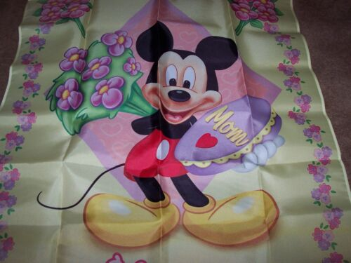 """/""""Happy Mother/'s Day/"""" Hamilton Collection ~ Mickey /& Friends House Flag w//Coa New"""