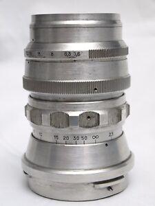 Telemar-22-5-6-200-Objektiv-fur-Kiev-60-Pentacon-Six-guter-Zustand-Raritat