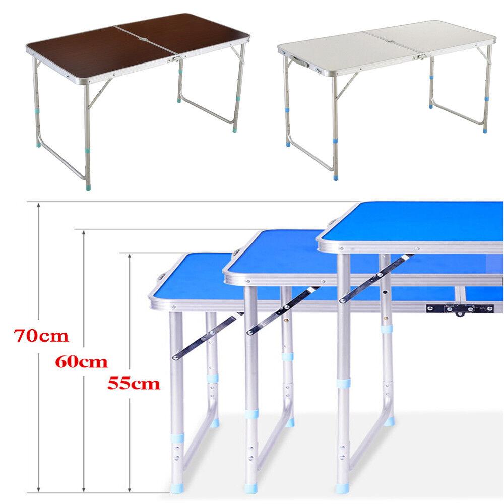 Camping Tisch Wohnwagen 120x70cm Campingtisch klappbar Klapptisch Gartentisch