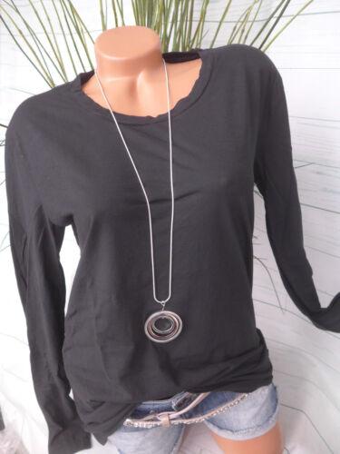 Please Made in Italy Shirt Gr XL schwarz 800 NEU M