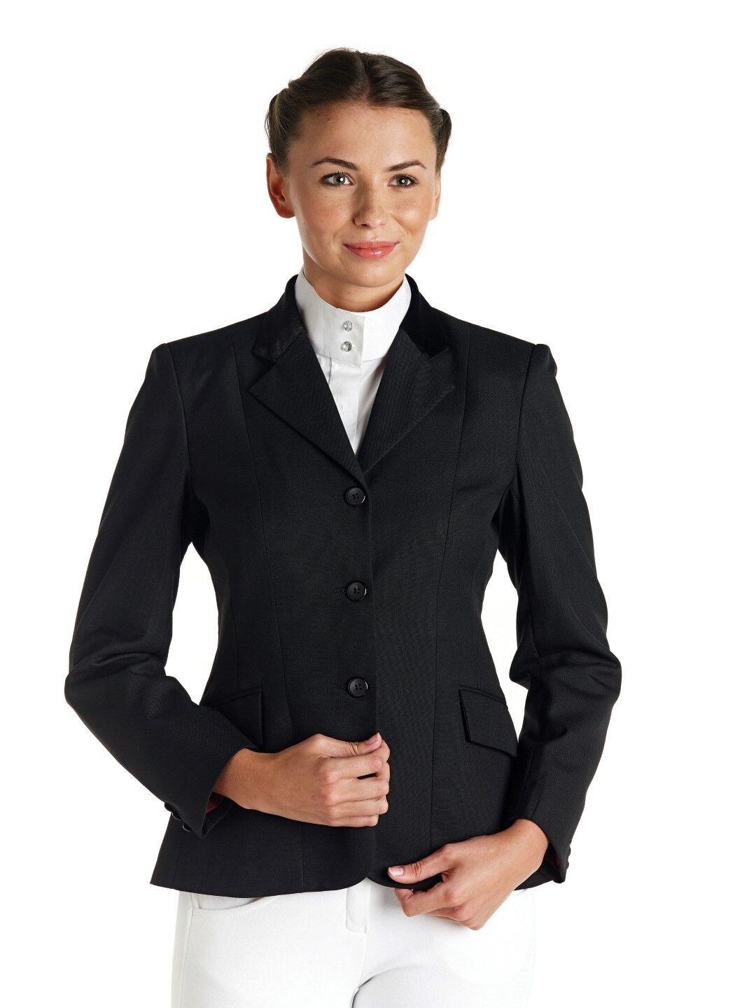 Caldene Waterton señoras competencia mostrar montando chaqueta Azul Marino O Negro