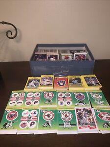 1980-1990 HUGE MLB Trading Baseball Card Lot Fleer Series Topps Upper Deck Score
