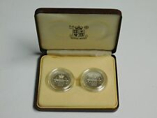 1989 Tercentenary The Bill of Rights & Claim of Right £2 Silver Proof 2 Coin Set