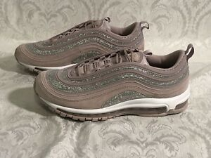 Nike Air Max 97 Womens Trainers UK 6 EU 40 Black Glitter