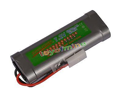 7.2V 5000mAh Ni-MH rechargeable battery pack Tamiya NEW