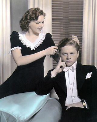 JUDY GARLAND MICKEY ROONEY 8x10 PICTURE COLOR PHOTO