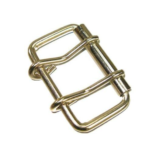 """2 Prong Roller Buckle 2.5/"""" Double Prong"""