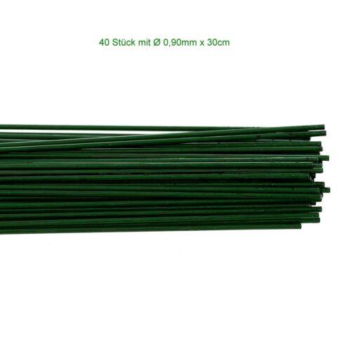 Bütic steckdraht-canutillos encuadernar-basteldraht-Verde