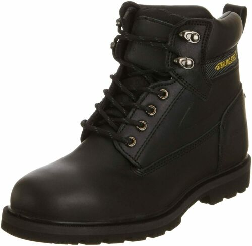 Sterling Steel SS800SM Safety Boots Black